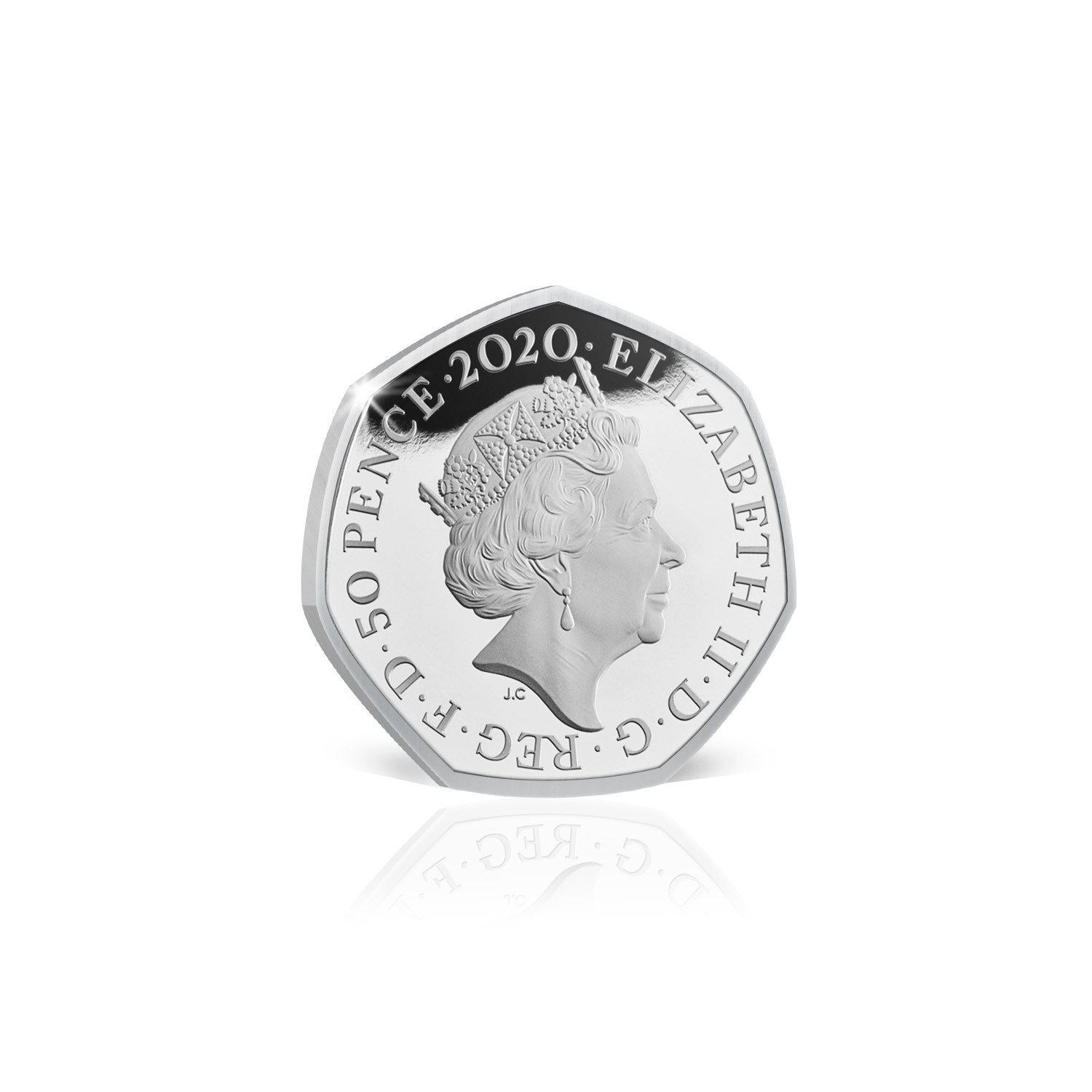 Brexit 50p Coin Official Royal Mint Limited Edition Brand New Solid Silver Proof 6
